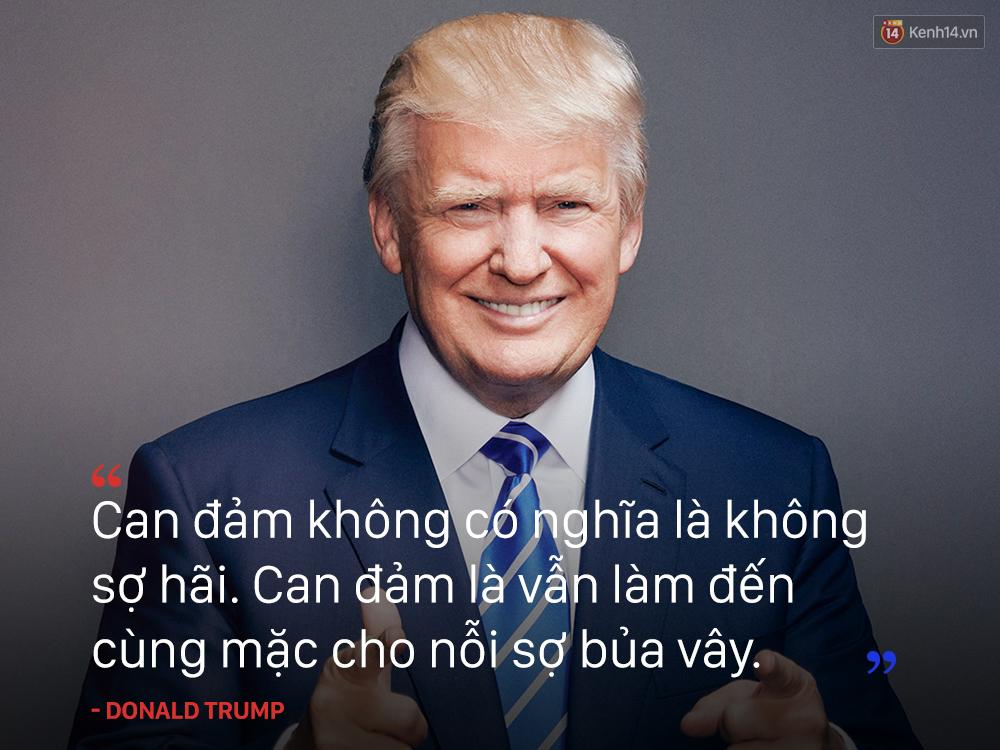 Donald Trump - Can đảm là làm đến cùng