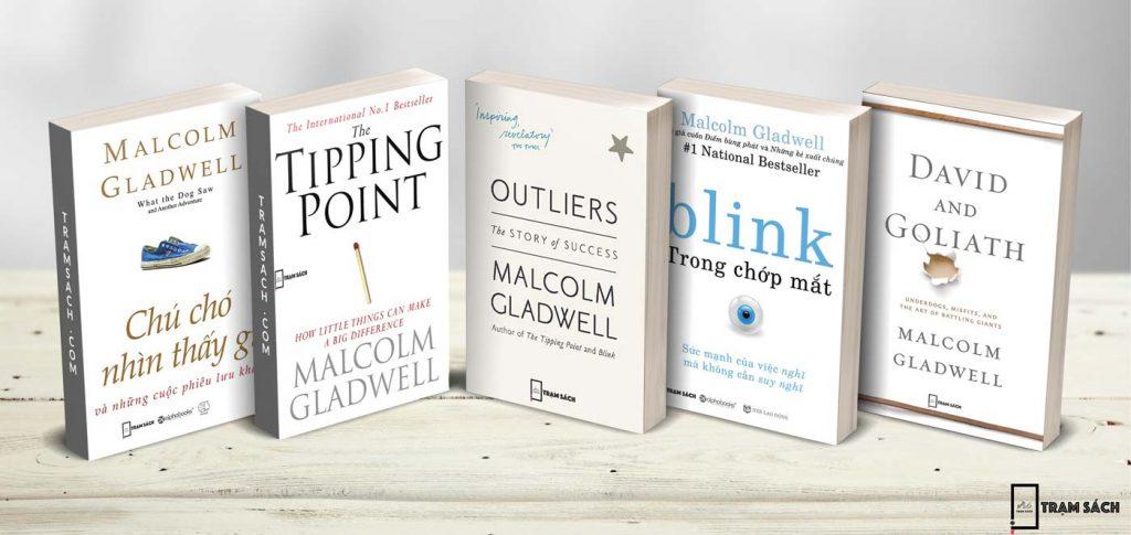 Tuyển tập các sách của tác giả Malcolm Gladwell