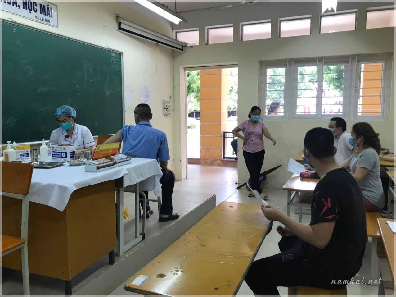 You are currently viewing Góc nhìn: Hành trình tiêm Vaccine Covid-19 Astrazeneca tại quận Thanh Xuân
